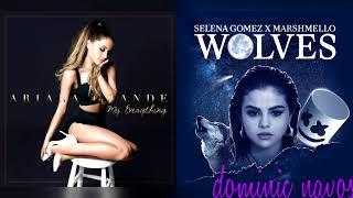 Download Lagu One Last Wolf - Ariana Grande x Selena Gomez & Marshmello (Mashup) Gratis STAFABAND