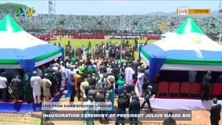 SIERRA LEONE'S PRESIDENT RTD.GEN.BRIG JULIUS MAADA BIO INAUGURATION