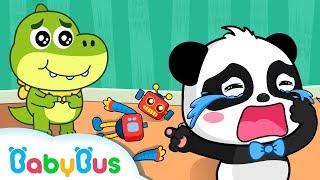 Baby Panda Kiki huilt op de kleuterschool | Animatiefilm & kinderliedjes | BabyBus