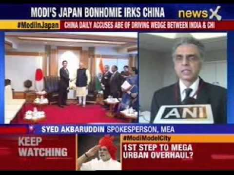 China daily slams Modi-Abe meet in Japan