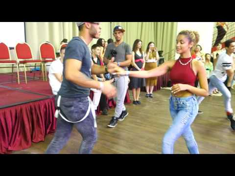 00071 RZCC 2016 Social dancing Fernanda and William part 2 ~ video by Zouk Soul