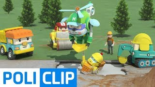 Never give up! | Robocar Poli Rescue Clips