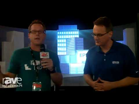 InfoComm 2014: Gary Interviews Epson's Director of Projector Product Management Richard Miller