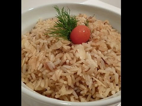 Receta: Arroz Arabe Casero (Muy Facil Y Delicioso) - Silvana Cocina Y Manualidades