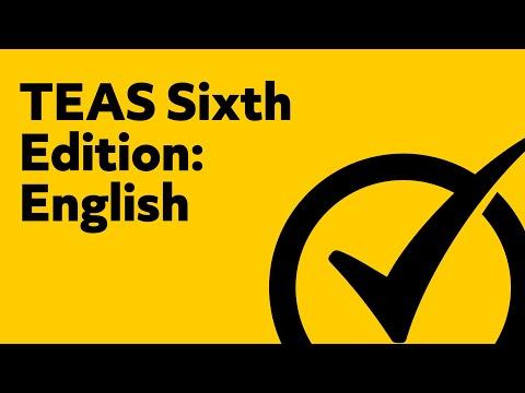 TEAS Test Version 6 English and Language Usage Study Guide