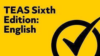 TEAS Test (Version 6) English and Language Usage Study Guide