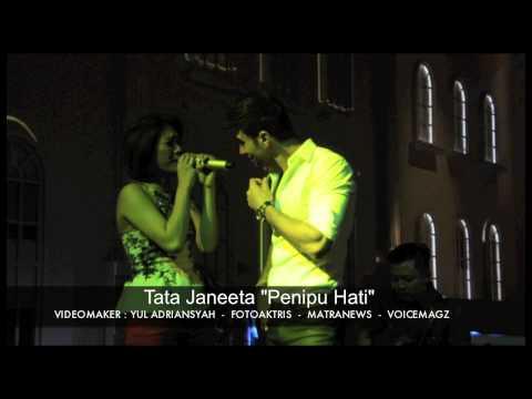 """download lagu Tata Janeeta """"Penipu Hati"""" gratis"""