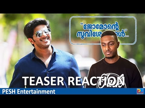 Jomonte Suviseshangal Teaser Reaction & Review | Dulquer Salmaan | PESH Entertainment