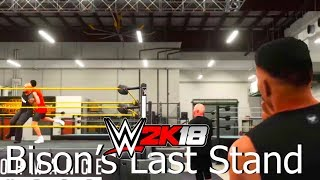 The New Era! | WWE2K18 Bison's Last Stand #1 (My Career w/commentary)