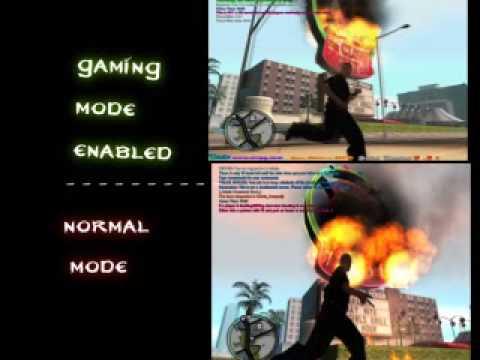 Game Booster 1.21 - The Lag Killer