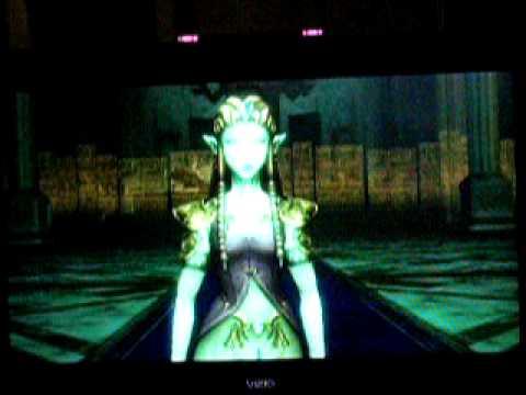 The legend of Zelda Twilight Princess The Final Battle part 1.MOV