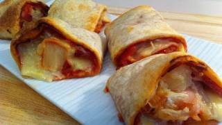 PIZZA SCROLLS - KIDS RECIPE