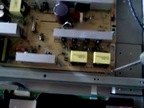 How to repair or replace power supply LG 42LG50-UG 42