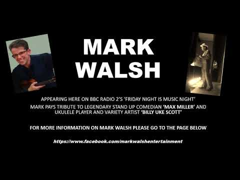Mark Walsh Comedian and Ukulele Player Part 1