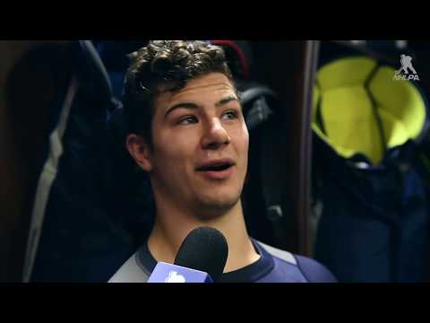 In The Locker Room - Connor Carrick
