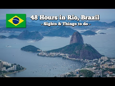 Things to do in Rio in 48h (Travel Guide Rio, Brazil)
