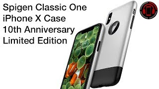 Spigen Classic One iPhone X - 10th Anniversary Limited Edition