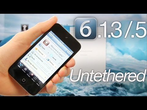 NEW Jailbreak 6.1.3. 6.1.5 Untethered iOS iPhone 4.3GS & iPod Touch 4 P0sixspwn