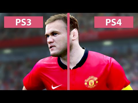 PES Pro Evolution Soccer 2015 - PS3 vs. PS4 Comparison [60fps][FullHD]
