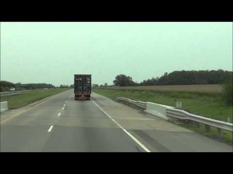Ohio - Interstate 75 North - Mile Marker 150-160 (8/16/12)