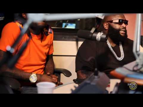 Entire MMG crew stops by Hot97 with Cipha Sounds and Rosenberg