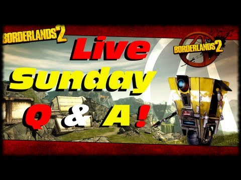 Borderlands 2 Farming Pyrocaustic Pete. Black Ops 2 and Halo 4 Q & A! Variety Video!