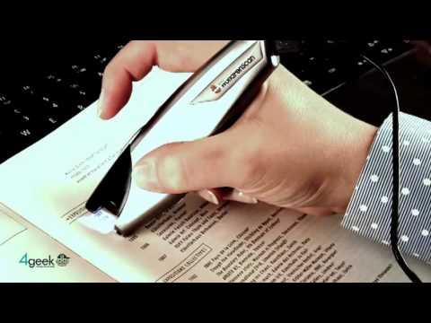 Scanner, scanmarker Air für Mac und iPhone: Mit Übung gut