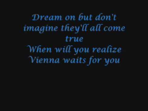 Billy Joel- Vienna (with lyrics)