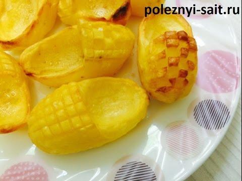 Лапти из картофеля
