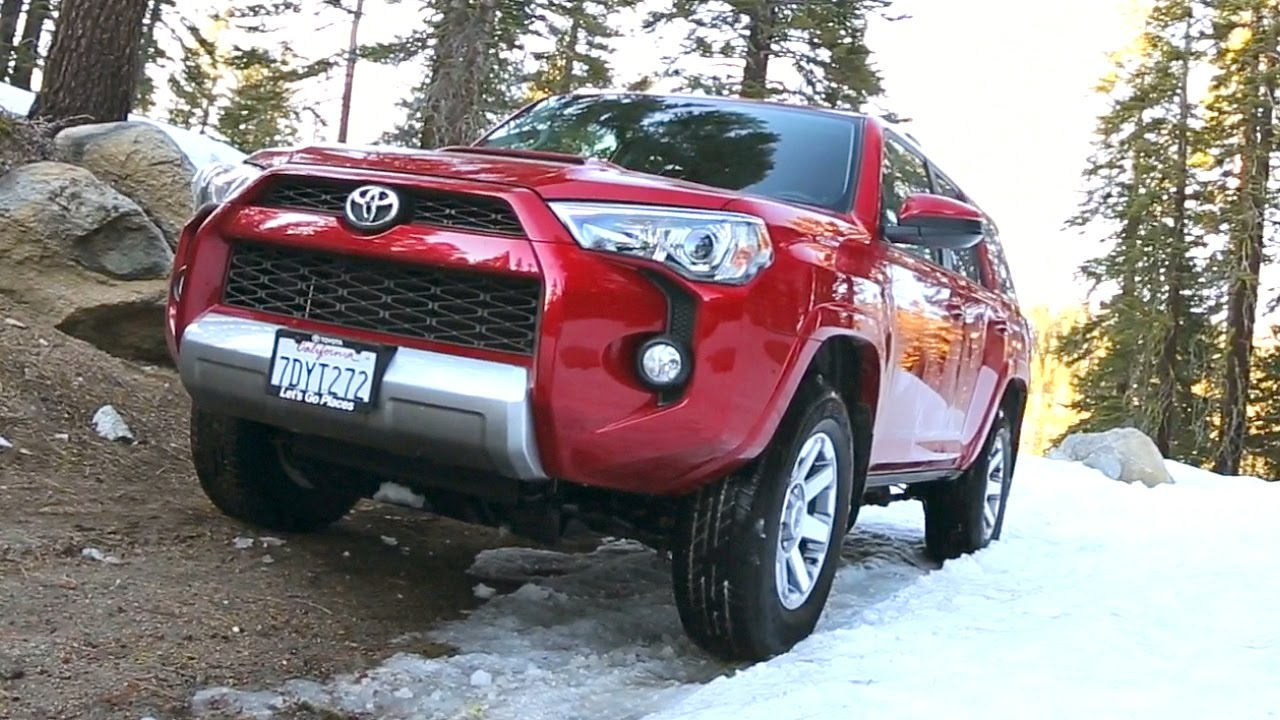 2016 Toyota 4Runner - Review & Road Test - YouTube