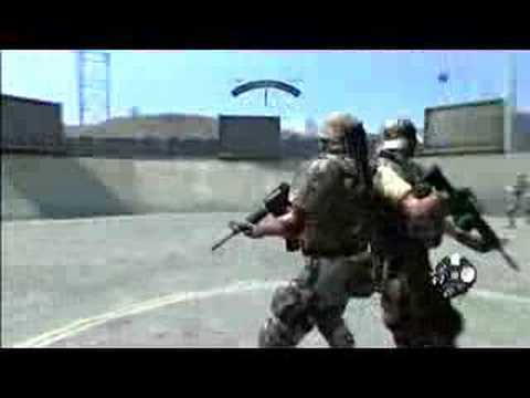 Army of Two : Gameplay of COOP - Tutorial