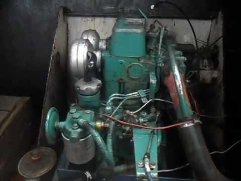 volvo penta MD11 - YouTube