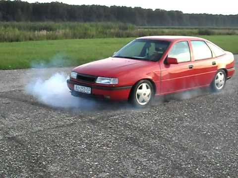 Opel Vectra A Gt Burnout