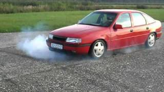 OPEL VECTRA A GT BURNOUT