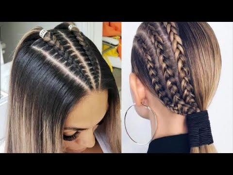 Peinados Fáciles y Rápidos De Moda Para 2018 / Cute Hairstyles 2018