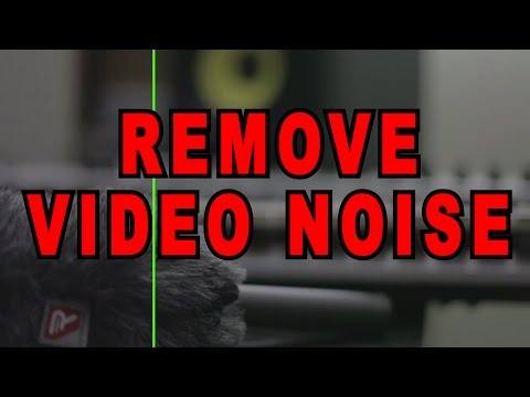 How To Remove Video Noise Tutorial - Neat Video Plugin