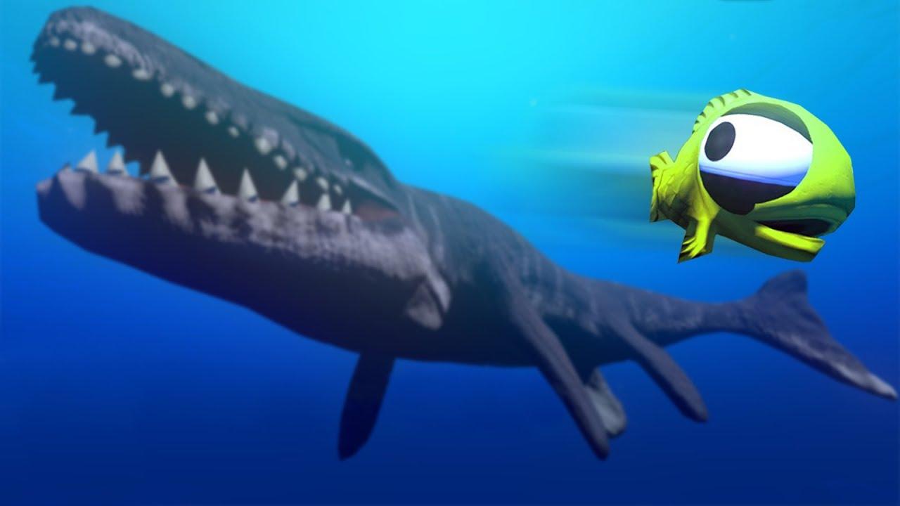 Giant prehistoric shark