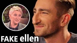 Polish Guru Fakes Being on the Ellen Show