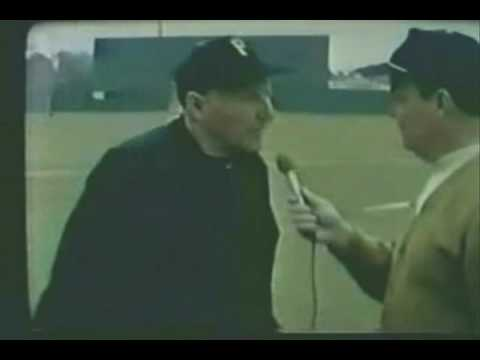 Here's a rare Pie Traynor TV Interview from Spring Training in 1969. The Video can also be viewed at www.thedeadballera.com.