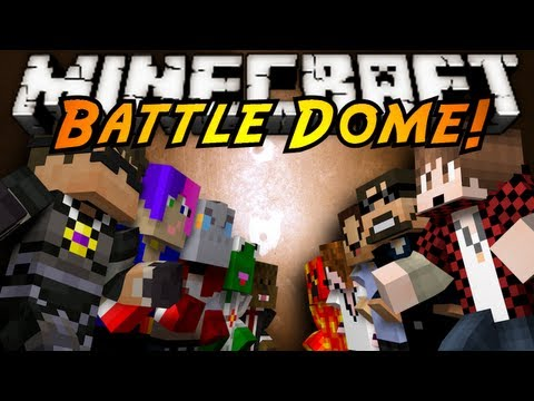 Watch Minecraft Mini-Game : BATTLE DOME!
