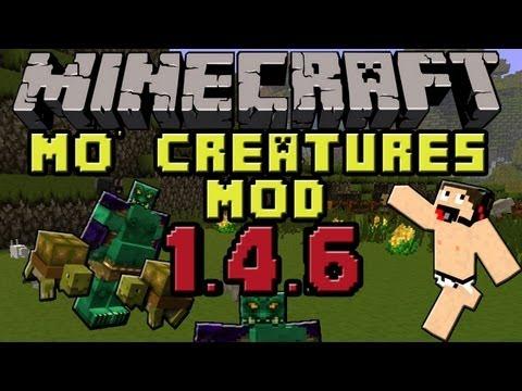 Minecraft mods : Como instalar y descargar Mo' Creatures Mod para minecraft 1.4.6