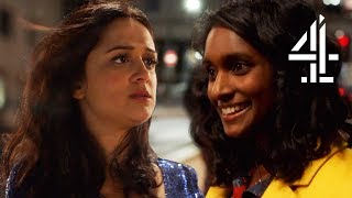 When You Meet Someone Unexpected On A Night Out | Ackley Bridge