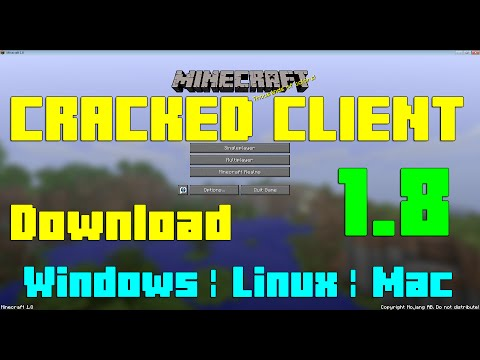 Minecraft 1.8 Cracked Client for Windows/Linux/Mac [Tutorial & PROOVE]