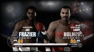 EA Sports Fight Night Champion (Joe Frazier vs Larry Holmes) 2018