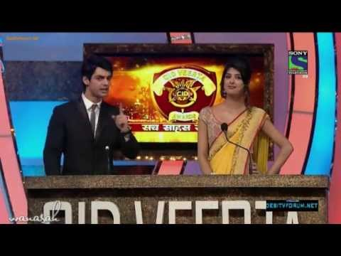 karan wahi - C.I.D Veerta Awards 2013 part 1