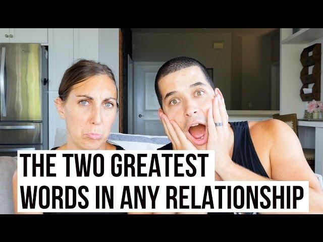 The 2 Greatest Words In Any Relationship  Jefferson  Alyssa Bethke