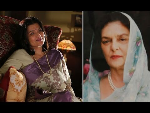 Gayatri Devi Inspires Sarika For 'purani Jeans' - Bt video