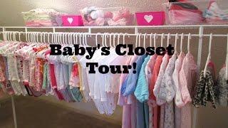 18 & Pregnant | My Baby's Closet Tour & Organization!