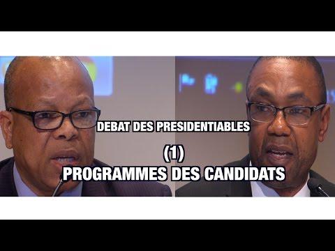 CCE - Débat Présidentiables_(1) Programmes des Candidats