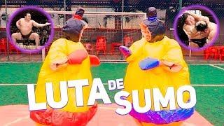 GINCANA: LUTA DE SUMÔ COM MC WM, GRACIE CARVALHO, JOYCE E MUSAS | #HottelMazzafera